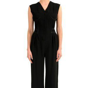 Maison Margiela 1 Women's Wool Black Jumpsuit